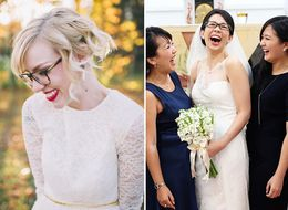 12 Bespectacled Brides Who Rocked Glasses At Their Weddings