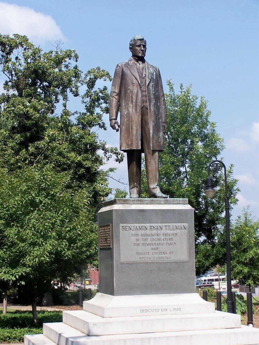 Ben tillman statue