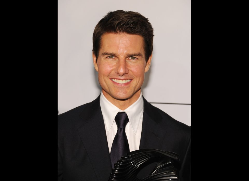 Tom Cruise attends The Friars Club and Friars Foundation Honor of Tom Cruise in 2012.