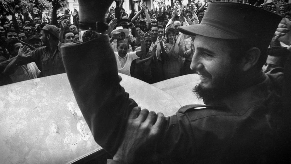 In January 1959, after nearly six years of guerilla war, Castro seizes control of Cuba from the corrupt Batista regime. Later
