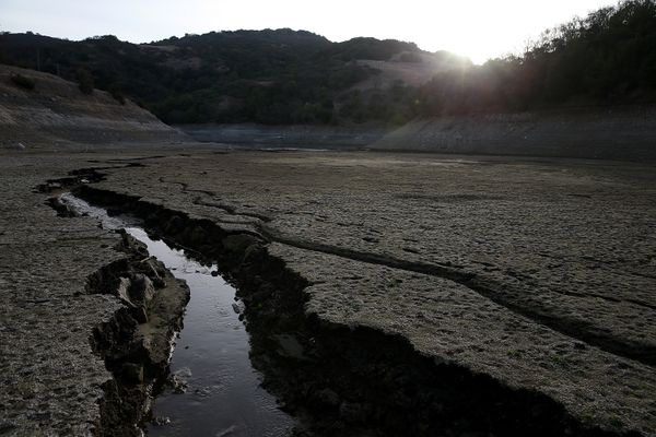 Watch California Dry Up Right Before Your Eyes In 6 Jaw-Dropping