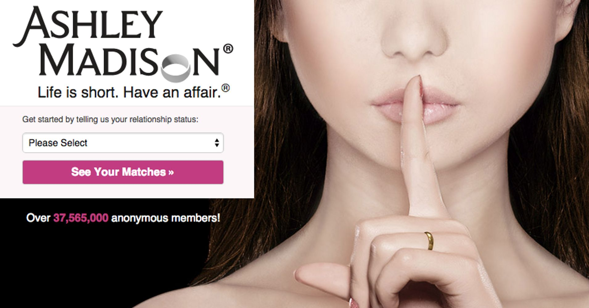 Cheating Website AshleyMadison.com Hacked; 37 Million Users Now Vulnerable    HuffPost