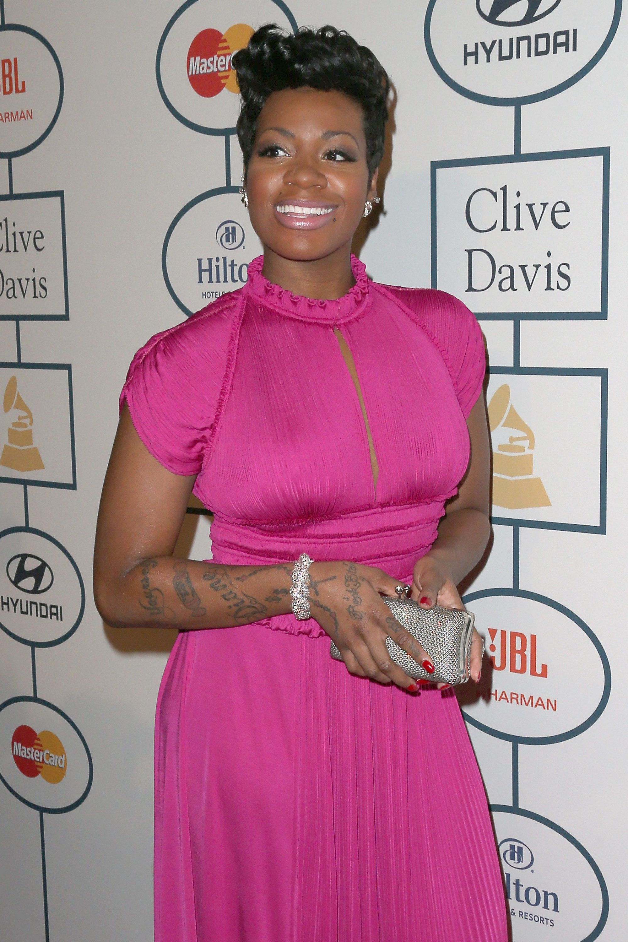 BEVERLY HILLS, CA - JANUARY 25:  Singer Fantasia Barrino attends the 56th annual GRAMMY Awards  Pre-GRAMMY Gala and Salute to Industry Icons honoring  Lucian Grainge at The Beverly Hilton on January 25, 2014 in Beverly Hills, California.  (Photo by Frederick M. Brown/Getty Images)