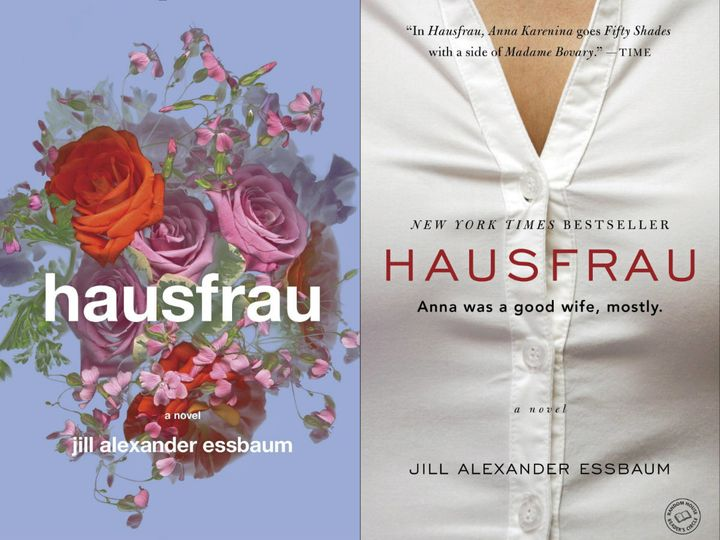 On the left, the hardcover, published in March of this year; on the right, the paperback, which will hit bookstores August 4.
