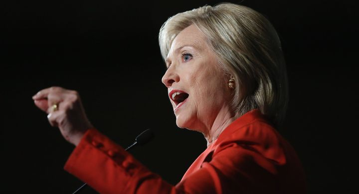 """<p>Democratic presidential candidate Hillary Clinton did a <a href=""""https://www.huffpost.com/impact/topic/facebook"""">Facebook</a> Q&A Monday afternoon.</p>"""