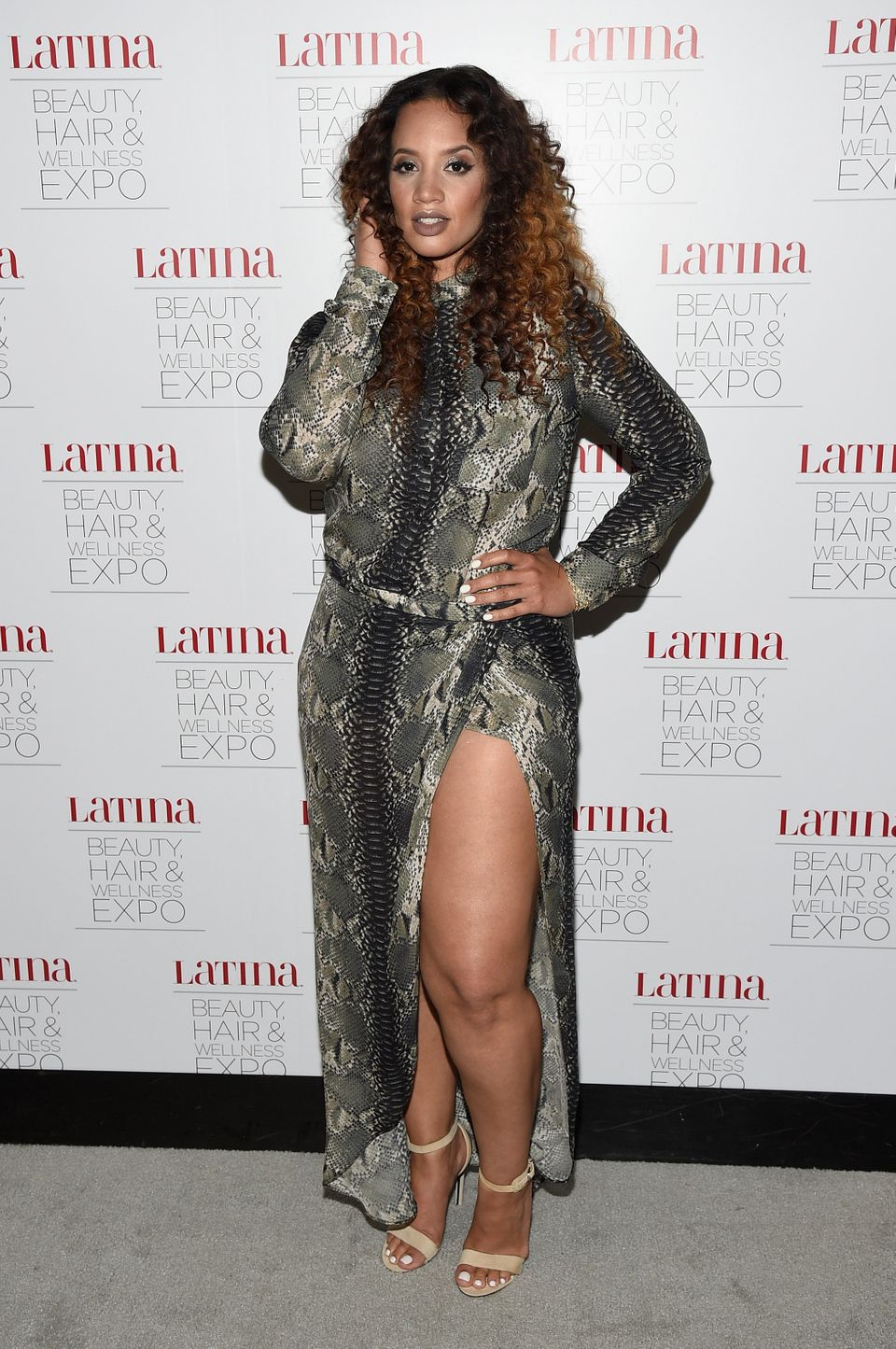 SECAUCUS, NJ - JULY 18:  Actress Dascha Polanco attends the Latina Beauty, Hair & Wellness Expo presented by Latina Media Ven