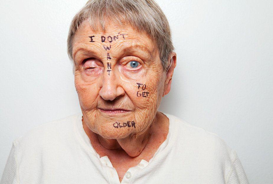 """<em>""""I am not my age.""""</em>"""