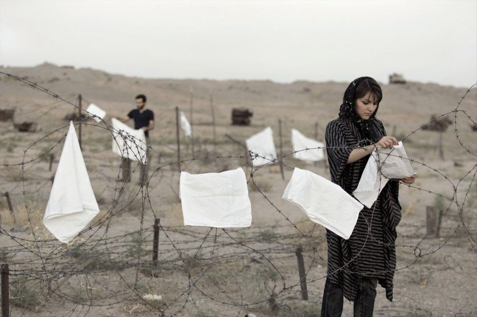 "Gohar Dashti; ""Untitled #2,"" 2008; From the series ""Today's Life and War""; Inkjet print; Courtesy of Gohar Dashti"