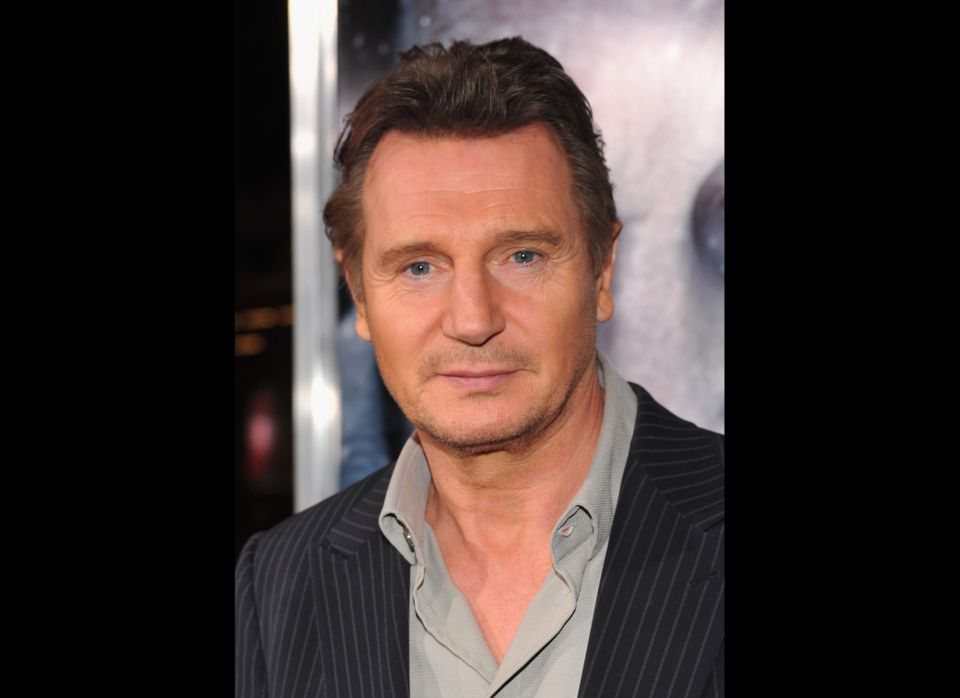 His hot accent was enough to make us swoon before, but now that Neeson has taken on more action roles, we're in love.