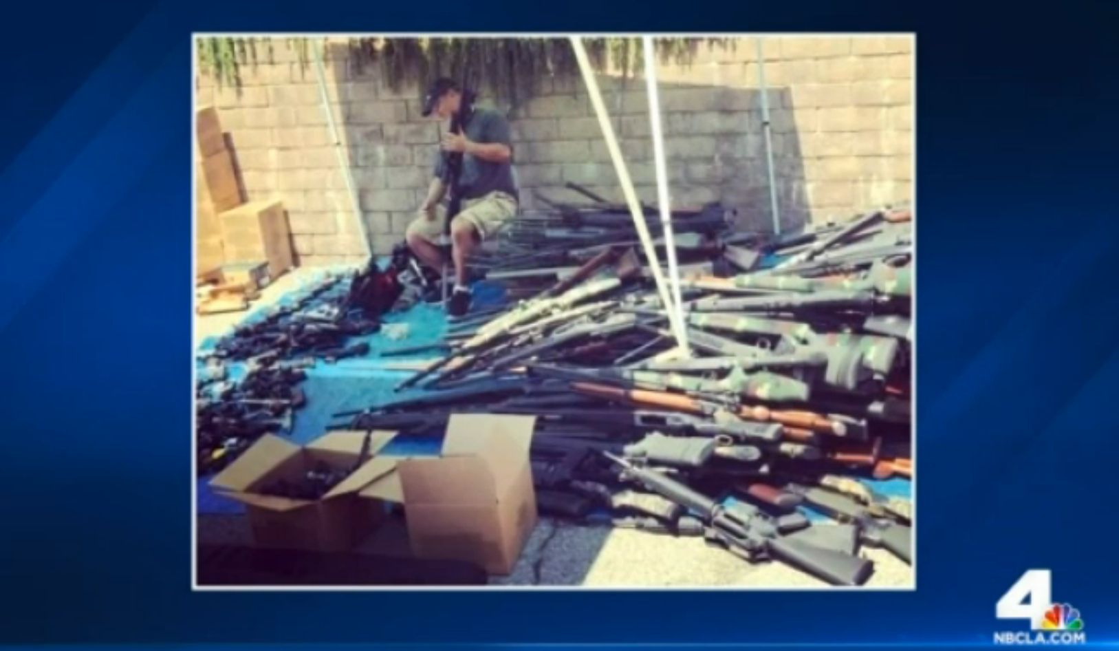 LAPD Investigating Man's Death Find Huge Arsenal In His Home