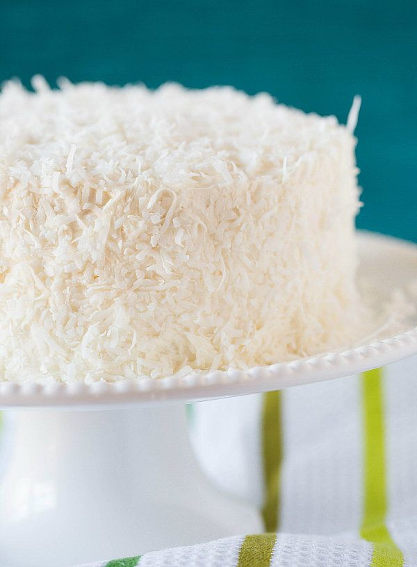 "<strong>Get the <a href=""http://www.browneyedbaker.com/coconut-cake-recipe/"" target=""_blank"">Coconut-Vanilla Bean Cake with C"