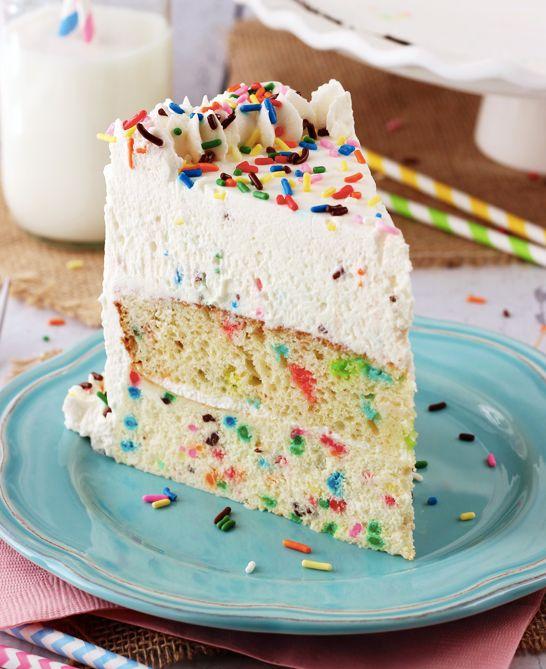 "<strong>Get the <a href=""http://www.lifeloveandsugar.com/2014/03/21/funfetti-millionaire-cake-recipe/"" target=""_blank"">Funfet"
