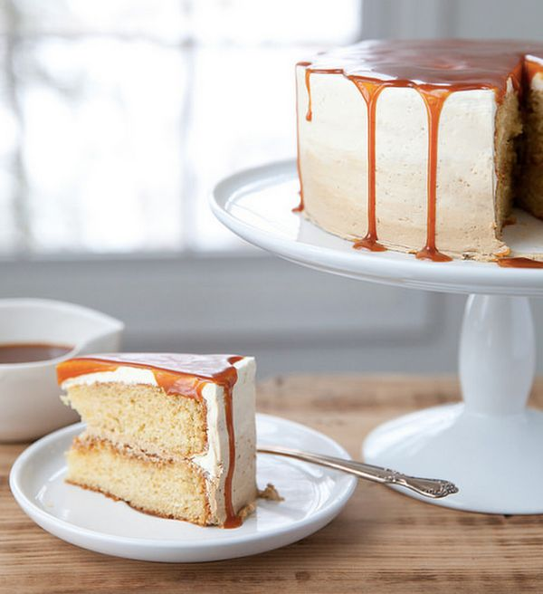 "<strong>Get the <a href=""http://www.annies-eats.com/2015/02/06/vanilla-caramel-latte-cake/"" target=""_blank"">Vanilla Caramel L"