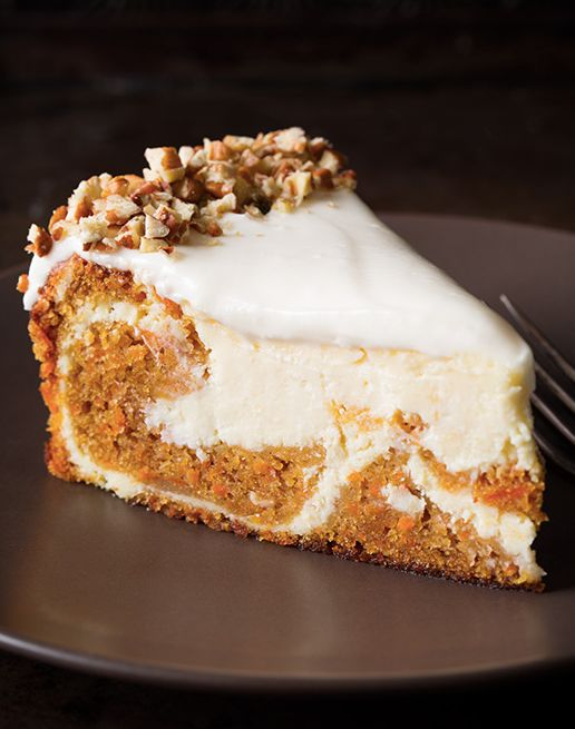 "<strong>Get the <a href=""http://www.cookingclassy.com/2014/03/carrot-cake-cheesecake/"" target=""_blank"">Carrot Cake Cheesecake"