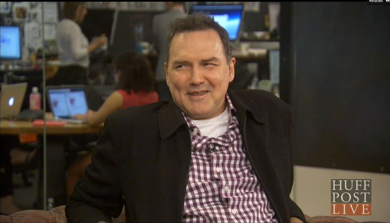 Norm Macdonald talks with HuffPost Live on July 21, 2015.