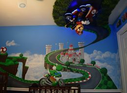 Dad Creates Epic Baby Nursery Of Every Mario Kart Fan's Dreams