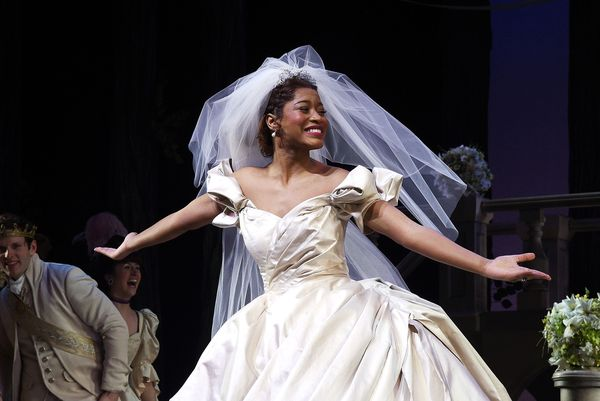 "KeKe Palmer played the <a href=""http://www.nbcnews.com/watch/nightly-news/keke-palmer-is-first-african-american-cinderella-on"