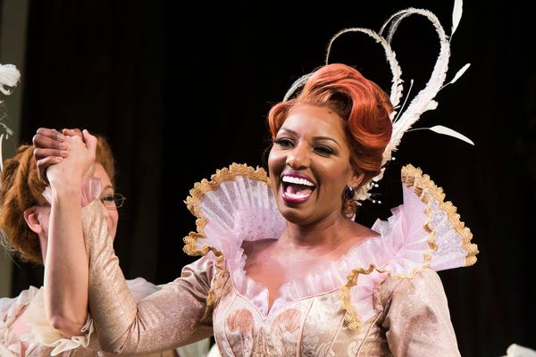 "NeNe Leakes <a href=""http://www.playbill.com/news/article/cinderella-to-close-on-broadway-real-housewives-star-nene-leakes-jo"