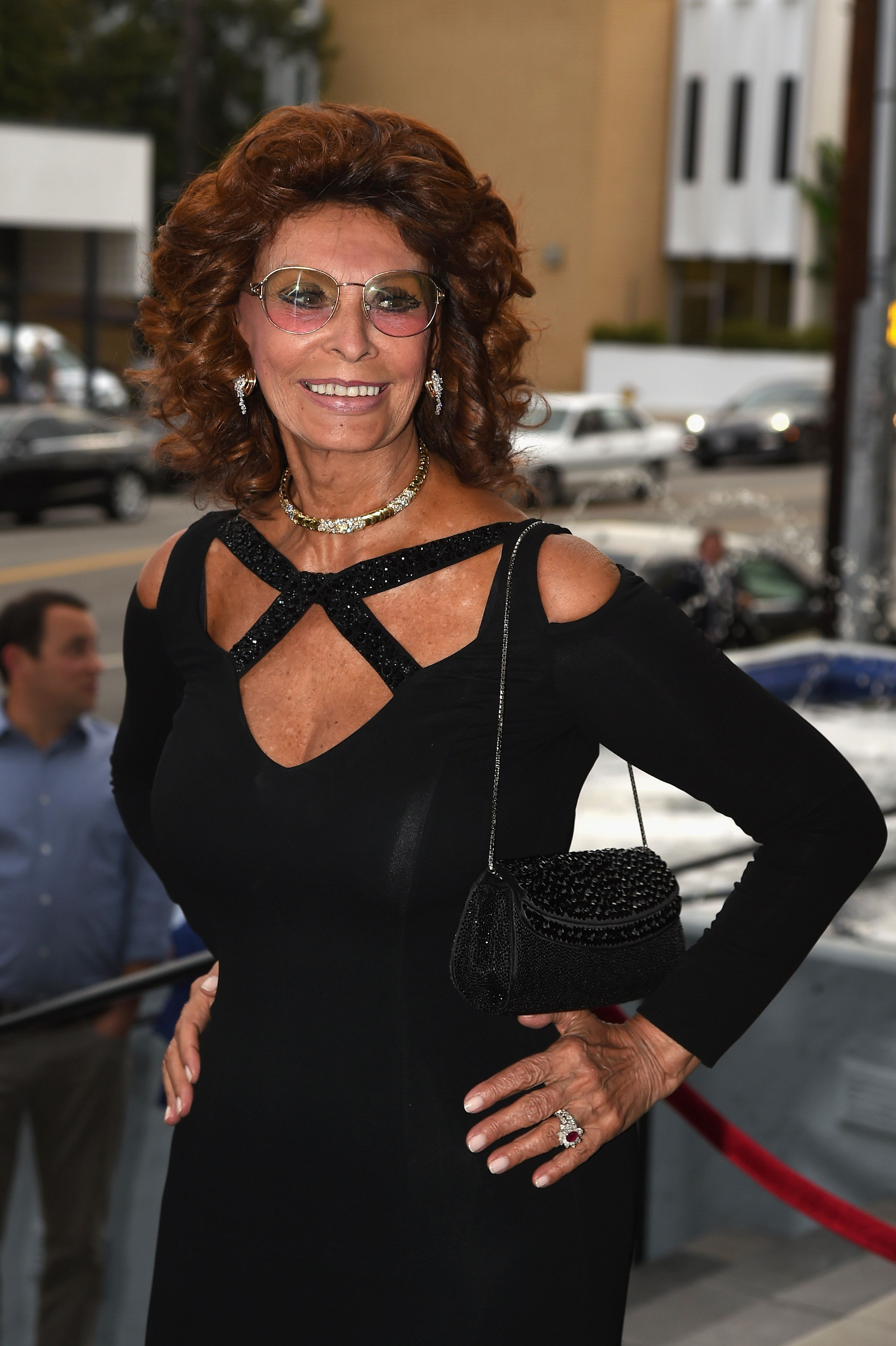 LOS ANGELES, CA - JULY 21:  Actress Sophia Loren attends the premiere of DIRECTV's 'Dark Places' at Harmony Gold Theatre on July 21, 2015 in Los Angeles, California.  (Photo by Kevin Winter/Getty Images)