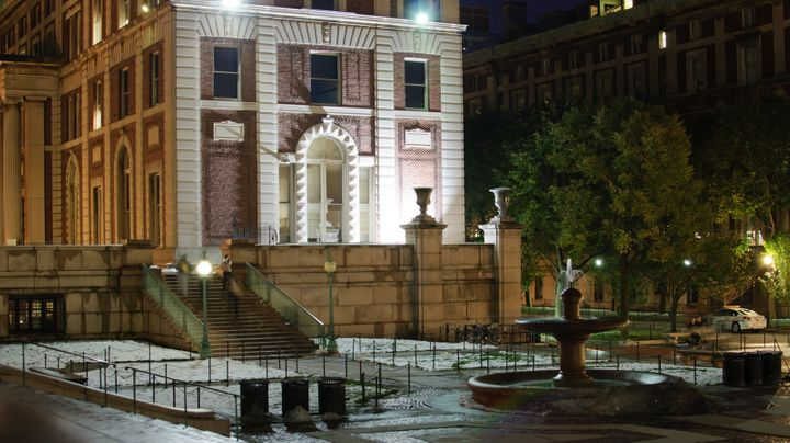 A student at Columbia accused the school of failing to interview witnesses in a sexual assault case.