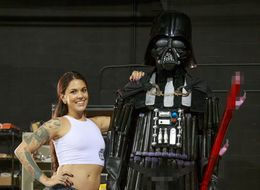 Porn Star Kayla-Jane Danger Builds Darth Vader Using Sex Toys (NSFW)