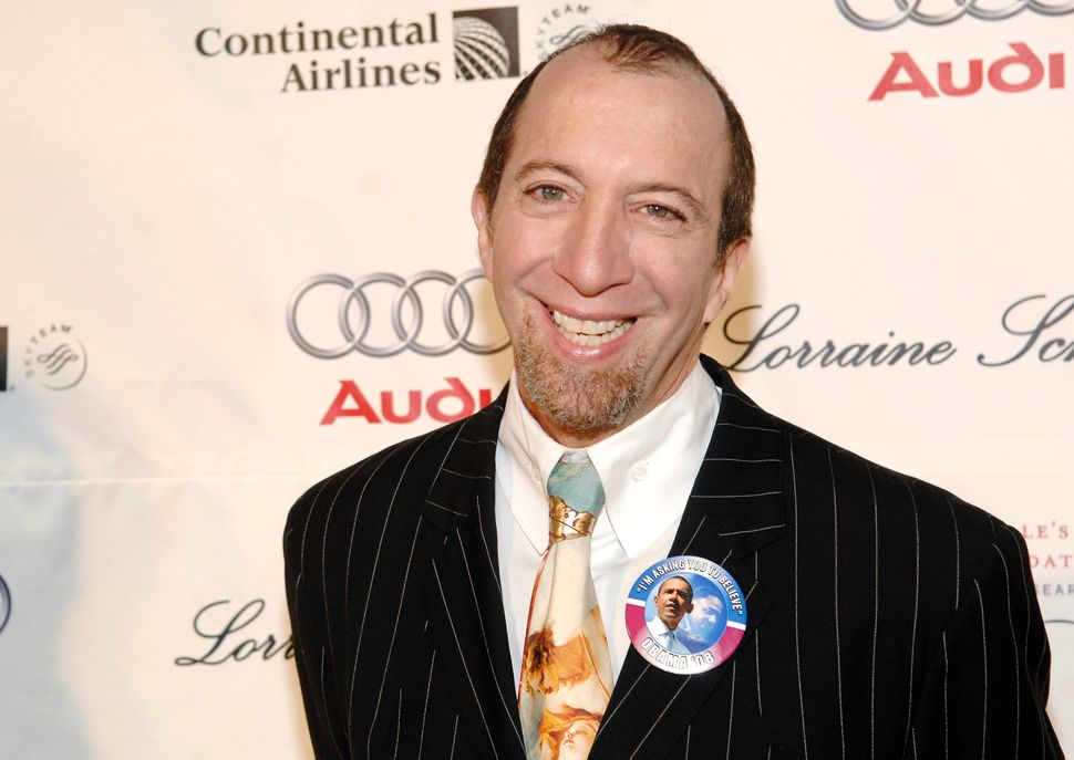 Tom Silverman attends the 2008 Gabrielle's Angel Foundation For Cancer Research Gala at Cipriani Wall Street in New York City