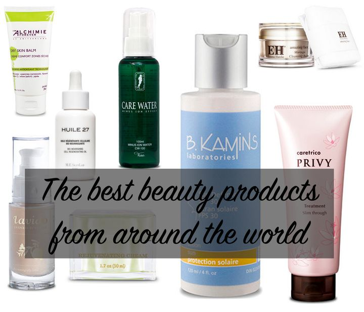 8 Must-Have Beauty Products From Around The World