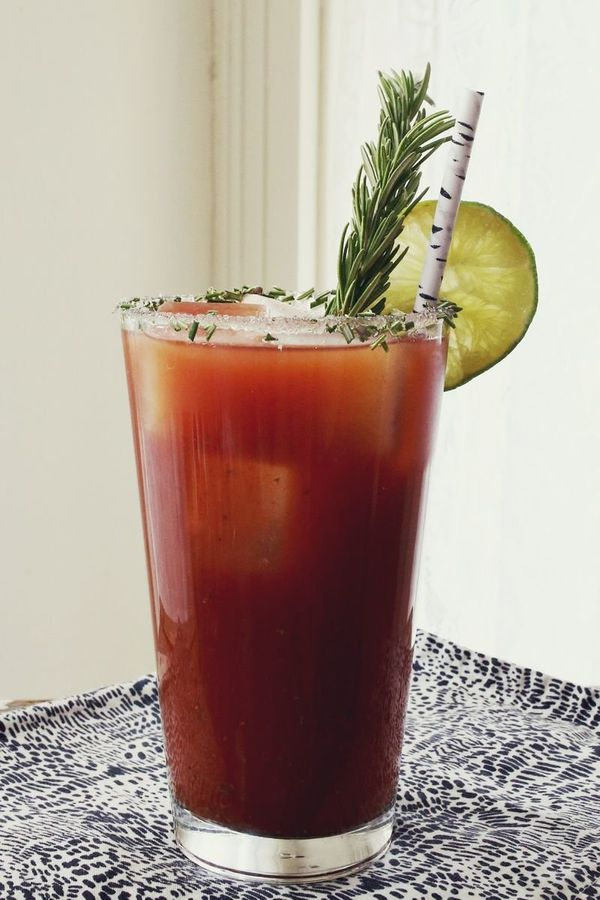 """<strong>Get the <a href=""""http://www.abeautifulmess.com/2013/11/rosemary-bloody-mary.html"""" target=""""_blank"""">Rosemary Bloody Mar"""