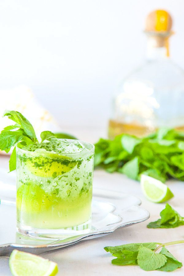 """<strong>Get the <a href=""""http://www.deliciouseveryday.com/tequila-mojito-recipe/"""" target=""""_blank"""">Tequila Mojito Cocktail rec"""