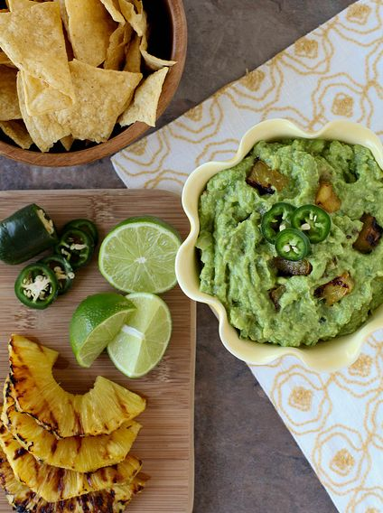 """<strong>Get the <a href=""""http://www.annies-eats.com/2012/06/13/grilled-pineapple-guacamole/"""" target=""""_blank"""">Grilled Pineappl"""