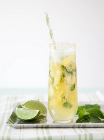 """<strong>Get the <a href=""""http://www.annies-eats.com/2014/03/26/pineapple-mojitos/"""" target=""""_blank"""">Pineapple Mojitos recipe</"""