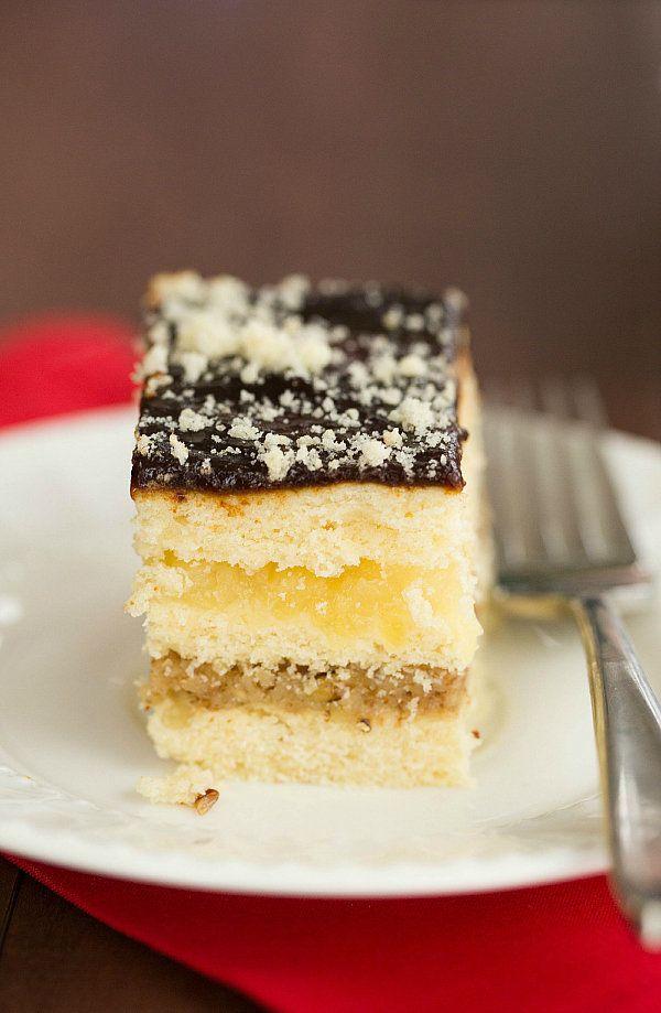 """<strong>Get the <a href=""""http://www.browneyedbaker.com/2013/12/17/decker-cake/"""" target=""""_blank"""">Decker Cake recipe</a> from B"""