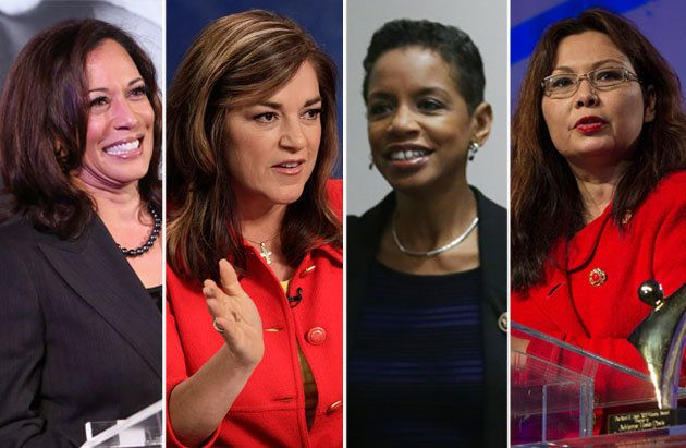 Kamala Harris, Loretta Sanchez, Donna Edwards and Tammy Duckworth are running for Senate this cycle.