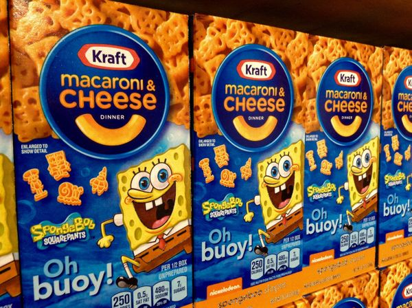 Kraft's macaroni and cheese gets its iconic toxic-orange hue from artificial dyes like Yellow 5 and Yellow 6. By 2016, no lon