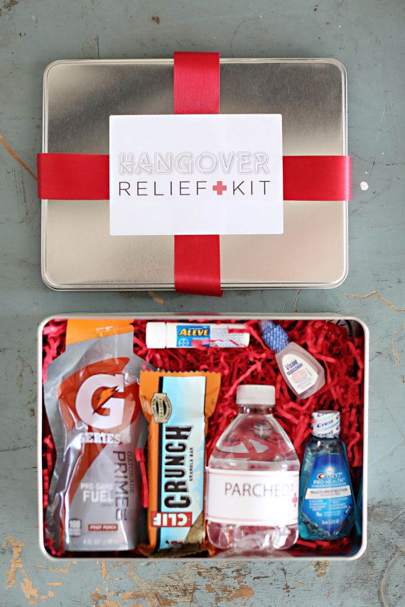 """Credit: <a href=""""https://www.etsy.com/listing/195737357/hangover-kit-wedding-favor-bachelor-and"""">Welcome Bag Shoppe/</a>Etsy"""