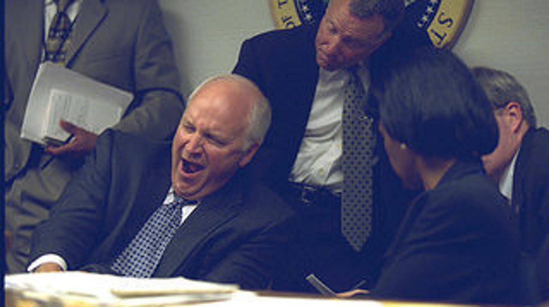 See Dick Cheney And The White House React To 9/11