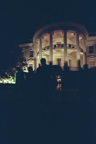 Vice President Cheney and Lynne Cheney Depart the White House on Marine Two.
