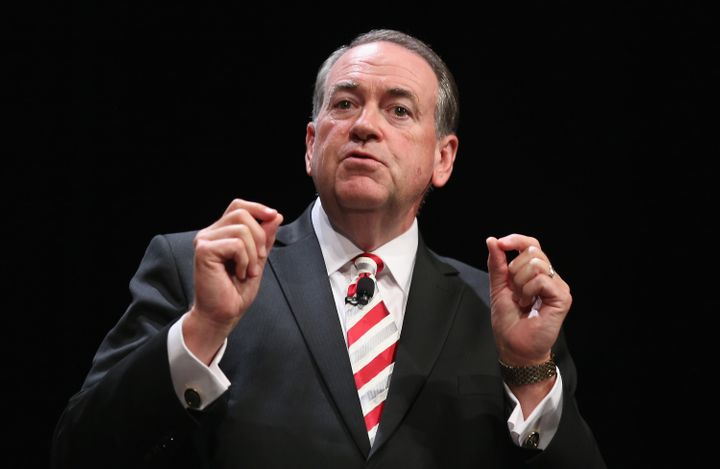GOP presidential hopeful Mike Huckabee condemned the Iran deal on Breitbart News Saturday, July 25, 2015.
