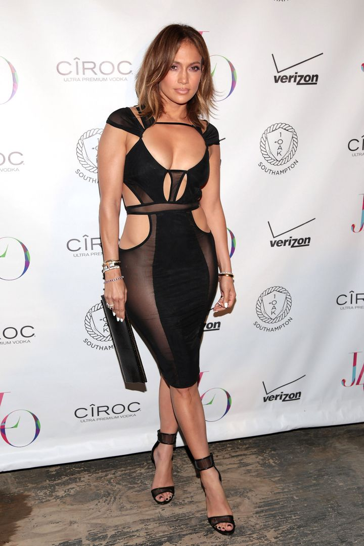 Jennifer Lopez Proves Age Is Just A Number In Sexy Black Dress ...