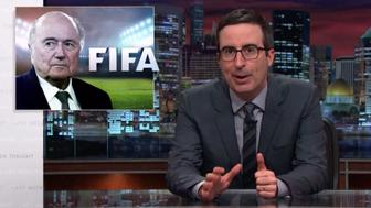 John Oliver addresses FIFA and their sponsorship troubles.