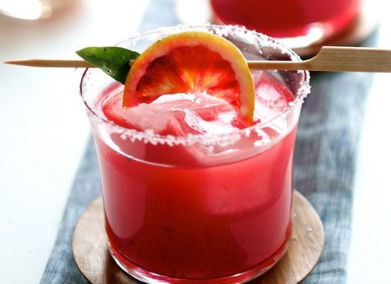 "<strong>Get the <a href=""http://whiteonricecouple.com/recipes/fruit-recipes-2/blood-orange-margarita/"">Blood Orange Margarita"