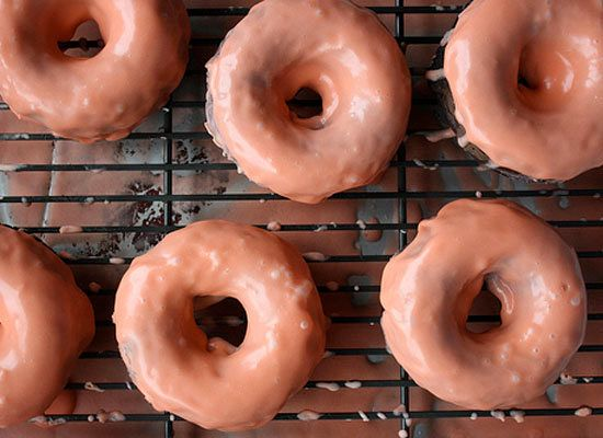 "<strong>Get the <a href=""http://www.heatherchristo.com/cooks/2012/02/08/chocolate-donuts-with-blood-orange-glaze/"">Chocolate"
