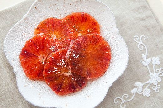 "<strong>Get the <a href=""http://www.simplyrecipes.com/recipes/moroccan_orange_dessert/"">Moroccan Orange Dessert recipe</a> fr"