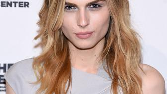 NEW YORK, NY - APRIL 02:  Andreja Pejic attends The 2015 Center Dinner at Cipriani Wall Street on April 2, 2015 in New York City.  (Photo by Jamie McCarthy/Getty Images)