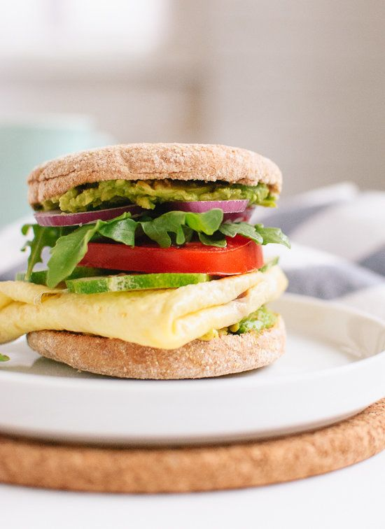 """<strong>Get the <a href=""""http://cookieandkate.com/2013/avocado-egg-and-english-muffin-sandwich/"""" target=""""_blank"""">Avocado, Egg"""