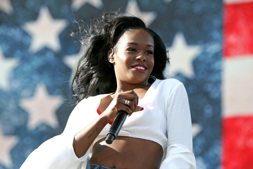Azealia Banks performs at the 2015 Coachella Music and Arts Festival on Friday, April 10, 2015, in Indio, Calif. (Photo by Ri