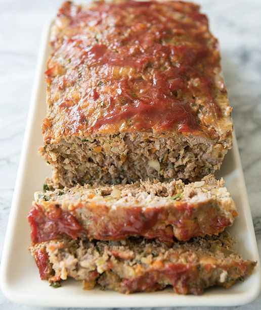 "<strong>Get the <a href=""http://www.simplyrecipes.com/recipes/classic_meatloaf/"" target=""_blank"">Classic Meatloaf recipe</a>"