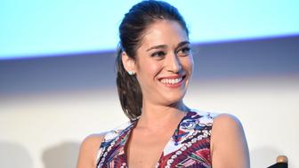 CULVER CITY, CA - MAY 05:  Actress Lizzy Caplan speaks at the screening of Showtime and Sony Pictures Television's 'Masters Of Sex' at the Cary Grant Theater on May 5, 2015 in Culver City, California.  (Photo by Michael Buckner/Getty Images)