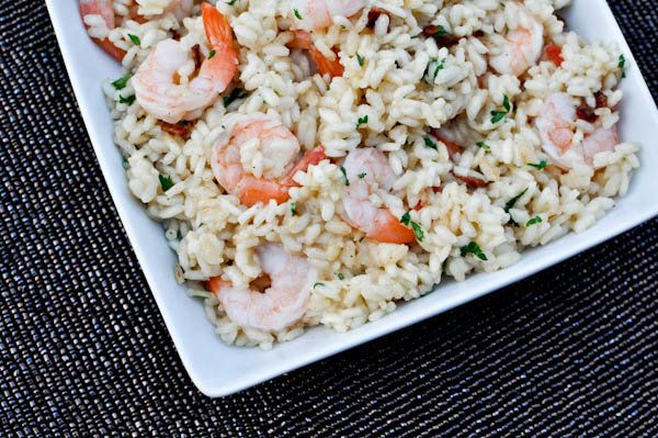 "<strong>Get the <a href=""http://www.howsweeteats.com/2010/12/shrimp-and-bacon-risotto/"" target=""_blank"">Shrimp and Bacon Riso"