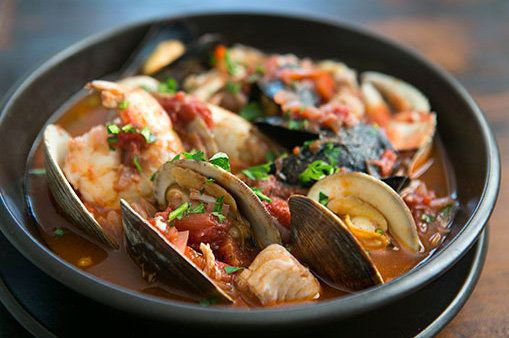 "<strong>Get the <a href=""http://www.simplyrecipes.com/recipes/cioppino/"" target=""_blank"">Cioppino recipe</a> by Simply Recipe"